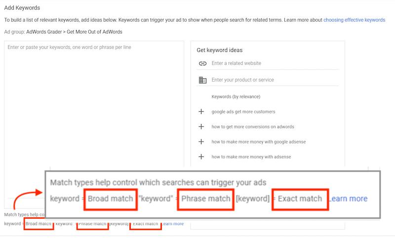 Broad Match Google Ads